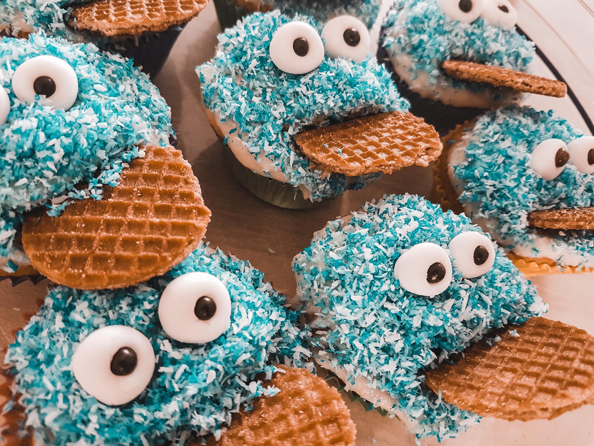 koekiemonster cupcake